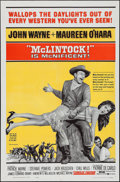"Movie Posters:Western, McLintock! (United Artists, 1963). One Sheet (27"" X 41""). Western.. ..."