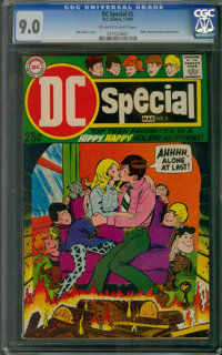 DC Special #2 (DC, 1969) CGC VF/NM 9.0 Off-white to white pages