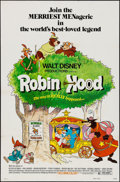"""Movie Posters:Animation, Robin Hood & Others Lot (Buena Vista, 1973). One Sheets (3) (27"""" X 41""""). Animation.. ... (Total: 3 Items)"""