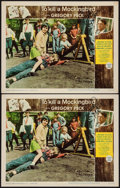 "Movie Posters:Drama, To Kill a Mockingbird (Universal, 1963). Autographed Lobby Cards (2) (11"" X 14""). Drama.. ... (Total: 2 Item)"