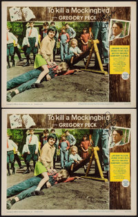 "To Kill a Mockingbird (Universal, 1963). Autographed Lobby Cards (2) (11"" X 14""). Drama. ... (Total: 2 Item)"