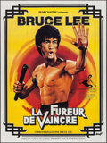 "Movie Posters:Action, The Chinese Connection (Rene Chateau, R-1979). French Grande (46.5""X 62.5""). AKA: Fist of Fury. Action.. ..."