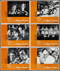 """Movie Posters:Foreign, Love is a Funny Thing & Others Lot (United Artists, 1969). Lobby Cards (6) & Lobby Card Sets of 8 (2 Sets) (11"""" X 14""""). Fore... (Total: 22 Items)"""