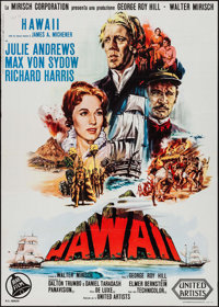 "Hawaii (United Artists, 1966). Italian 2 - Fogli (39.5"" X 55""). Drama"