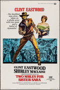 "Movie Posters:Western, Two Mules for Sister Sara (Universal, 1970). Poster (40"" X 60"").Western.. ..."