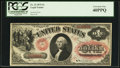 Large Size:Legal Tender Notes, Fr. 23 $1 1875 Legal Tender PCGS Extremely Fine 40PPQ.. ...
