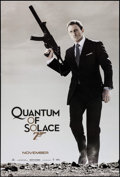 "Movie Posters:James Bond, Quantum of Solace (MGM, 2008). One Sheet (27"" X 40"") Advance. James Bond.. ..."
