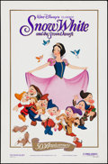 """Movie Posters:Animation, Snow White and the Seven Dwarfs (Buena Vista, R-1987). 50th Anniversary One Sheet (27"""" X 41"""") SS. Animation.. ..."""