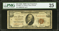 Fr. 1860-L* $10 1929 Federal Reserve Bank Star Note. PMG Very Fine 25