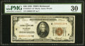 Small Size:Federal Reserve Bank Notes, Fr. 1870-E* $20 1929 Federal Reserve Bank Star Note. PMG Very Fine 30.. ...