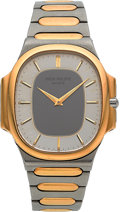 Timepieces:Wristwatch, Patek Philippe Ref. 3770/1 Gent's Two Tone Nautilus. ...