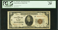 Fr. 1870-H* $20 1929 Federal Reserve Bank Note. PCGS Very Fine 20