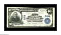 National Bank Notes:Tennessee, Jackson, TN - $10 1902 Date Back Fr. 623 The First NB Ch. # 2168.This note has excellent stamped signatures along with...