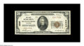 National Bank Notes:Tennessee, South Pittsburg, TN - $20 1929 Ty. 1 The First NB Ch. # 3660. Atough note from the only bank to issue in this small Mar...