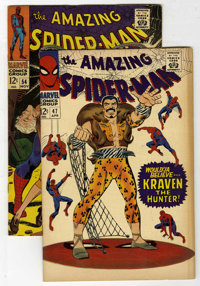The Amazing Spider-Man #47 and 54 Group (Marvel, 1967) Condition: Average VF-.... (Total: 2 Comic Books)