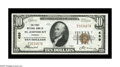 National Bank Notes:Vermont, Saint Johnsbury, VT - $10 1929 Ty. 1 The First NB Ch. # 489. A bright, crisp and fully embossed note with nice centeri...