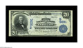 National Bank Notes:Virginia, Chase City, VA - $20 1902 Date Back Fr. 644 The First NB Ch. #(S)9291. This is one of only two Date Backs known from th...