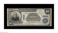 National Bank Notes:Virginia, Danville, VA - $10 1902 Plain Back Fr. 626 American NB & TC Ch.# 9343. This institution issued under two titles, with t...