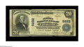 National Bank Notes:Virginia, Farmville, VA - $20 1902 Plain Back Fr. 652 The Peoples NB Ch. #9222. This example brings the total population of larg...