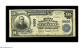 National Bank Notes:Virginia, Lebanon, VA - $10 1902 Plain Back Fr. 626 The First NB Ch. # 6886.A very scarce bank in large, with just seven such exa...