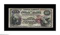 National Bank Notes:Virginia, Lynchburg, VA - $10 1875 Fr. 419 The National Exchange Bank Ch. #2506. Our Florida United Numismatists Signature Sale ...