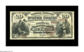 National Bank Notes:Virginia, Richmond, VA - $20 1882 Brown Back Fr. 504 The American NB Ch. #(S)5229. A nice Virginia Brown Back which is one of onl...