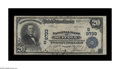 National Bank Notes:Virginia, Suffolk, VA - $20 1902 Plain Back Fr. 653 NB of Suffolk Ch. #(S)9733. This nicely margined Fine+ presents a very at...