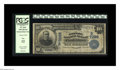 National Bank Notes:West Virginia, Clarksburg, WV - $10 1902 Date Back Fr. 616 The Empire NB Ch. #(S)7029. The purple stamped officers' signatures are de...