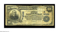 National Bank Notes:West Virginia, New Cumberland, WV - $10 1902 Plain Back Fr. 624 The First NB Ch. #(S)6582. A very scarce bank which issued large notes...