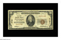 National Bank Notes:West Virginia, Pennsboro, WV - $20 1929 Ty. 1 The First NB Ch. # 7191. A Fine notewith one small margin separation at left, other...