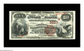 National Bank Notes:Wisconsin, Oshkosh, WI - $10 1882 Brown Back Fr. 490 The Commercial NB Ch. # (M)5557. A lovely Brown Back with a minimum of circula...
