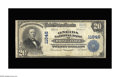 National Bank Notes:Wisconsin, Rhinelander, WI - $20 1902 Plain Back Fr. 659 The Oneida NB Ch. # 11646. This is one of 9 Large in the census with this ...
