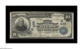 National Bank Notes:Wisconsin, Ripon, WI - $10 1902 Plain Back Fr. 624 The First NB Ch. # (M)425. Delicate pen signatures of F. Spratt and Gard Miller ...