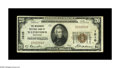 National Bank Notes:Wisconsin, Watertown, WI - $20 1929 Ty. 1 The Wisconsin NB Ch. # 1010. An extremely scarce bank which is actually tougher to obtain...