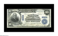 National Bank Notes:Wisconsin, Watertown, WI - $10 1902 Plain Back Fr. 626 The Merchants NB Ch. # 9003. A bright Very Fine with stamped officers' ...