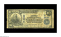 National Bank Notes:Wisconsin, Wauwatosa, WI - $10 1902 Plain Back Fr. 626 First NB Ch. #(M)8689. A Very Good with considerable experience from on...