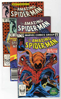 The Amazing Spider-Man #238, 252, and 300 Group (Marvel, 1983-88) Condition: VF+.... (Total: 3 Comic Books)