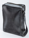 Post-War & Contemporary:Sculpture, Marilyn Levine (1933-2005). Leather Bag, 1990. Ceramic. 9 x10 x 4 inches (22.9 x 25.4 x 10.2 cm). Stamped 'Levine 90-7B...