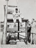 Baseball Collectibles:Photos, 1950's Ted Williams Signed Wire Photograph. ...