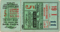 Baseball Collectibles:Tickets, 1922 World Series Game Five Ticket Stub....