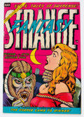 Golden Age (1938-1955):Horror, Strange Fantasy #13 (Farrell, 1954) Condition: VF....