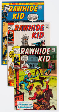 Rawhide Kid Group of 12 (Marvel, 1970-73) Condition: Average VF/NM.... (Total: 12 Comic Books)