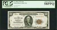 Fr. 1890-I $100 1929 Federal Reserve Bank Note. PCGS Choice About New 58PPQ