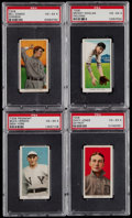 Baseball Cards:Lots, 1909-11 T206 Piedmont/Sweet Caporal PSA Graded Collection (4)....