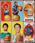Basketball Cards:Lots, 1969 & 1970 Topps Basketball Collection (146). ...