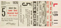 Baseball Collectibles:Tickets, 1926 World Series Game Five Ticket Stub. ...