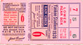 Baseball Collectibles:Tickets, 1926 World Series Game Six Ticket Stub - Grover Cleveland AlexanderWin. ...