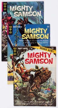 Mighty Samson Group of 25 (Gold Key, 1964-82) Condition: Average FN/VF.... (Total: 25 Comic Books)