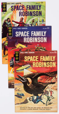 Space Family Robinson Group of 30 (Gold Key, 1964-75) Condition: Average VF.... (Total: 30 Comic Books)