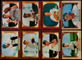 Baseball Cards:Lots, 1955 Bowman Baseball Collection With Few Duplicates (214). ...